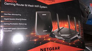 NETGEAR Nighthawk Pro Gaming XRM570 WiFi Router and Mesh WiFi System for Sale in Old Bridge Township, NJ