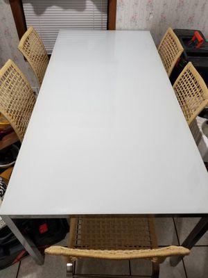 Glass top table for Sale in Monroe, LA