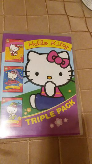 HELLO KITTY TRIPLE PACK DVD MOVIES for Sale in Wilmington, DE