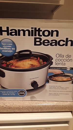 Hamilton beach slow cooker for Sale in Houston, TX