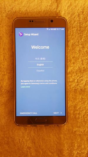 SAMSUNG GALAXY NOTE 5 FACTORY UNLOCKED (VERIZON) READ FULL DESCRIPTION (CLEAN IMEI) for Sale in Tampa, FL