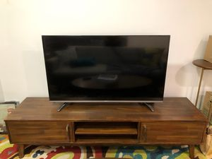Mid Century Modern Wood Table for TV for Sale in Scottsdale, AZ