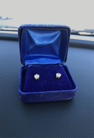 Diamond earrings (studs) FOR CHEAP! for Sale in Claymont, DE