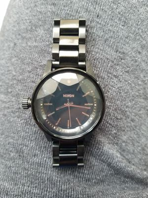 Nixon Watch - black with rose gold for Sale in Seattle, WA