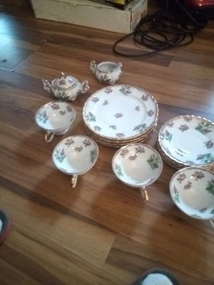 Fine china decorated w flowers for Sale in Benton, IL