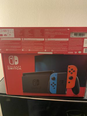 New V2 Nintendo switch brand new never used!! for Sale in Carpentersville, IL