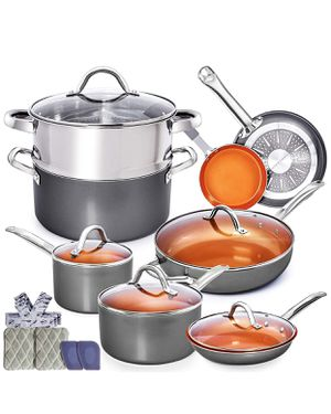 Brand new! Pots and pans 13 pc set for Sale in Yucaipa, CA