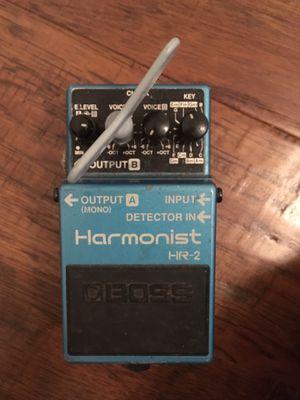 Boss HR-2 Harmonist Effect Pedal for Sale in Houston, TX
