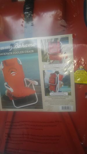 TOMMY BAHAMA- BACKPACK COOLER for Sale in Gresham, OR