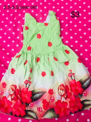 Little Girls Dresses 2-4 year old for Sale in Lutz, FL