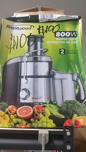Brand new 800 watt Brentwood juicer for Sale in NC, US