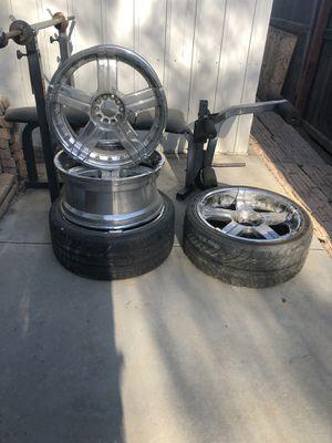 20 inch 5 lug universal Chrome wheels for Sale in Fresno, CA