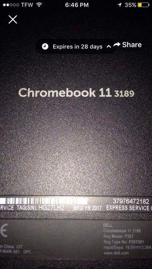 Chromebook 11 3189 for Sale in Oklahoma City, OK