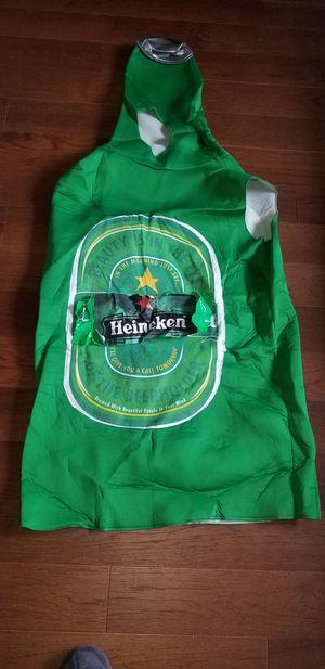 Heineken beer halloween costume adult size. for Sale in Alexandria, VA