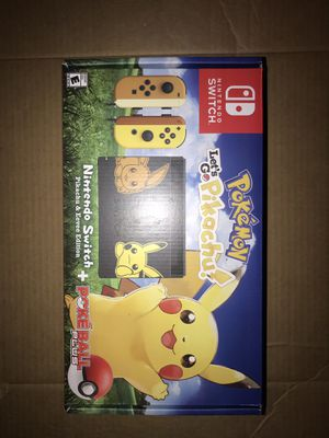 Nintendo Switch Pokémon Pikachu edition for Sale in Baltimore, MD