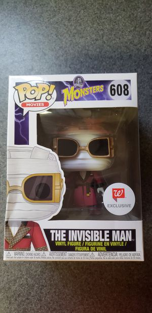 Invisible man funk pop for Sale in Mansfield, TX