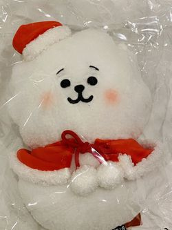 BTS BT21 Line Friends Official Baby RJ Christmas Winter Plush Plushie Doll NWT for Sale in Silver Spring,  MD