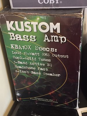 Bass amp 10 watts - Including bass guitar negotiable for Sale in Ithaca, NY