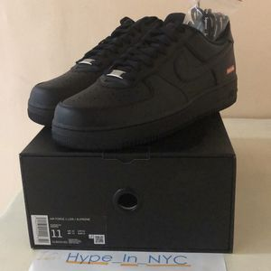 Supreme Air Force One Black Sz 11 for Sale in Queens, NY