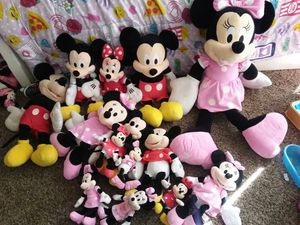 Minnie and Mickey mouse for Sale in San Jacinto, CA