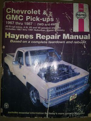 Libro Manual en $30 for Sale in Pasadena, TX
