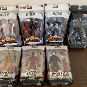 Marvel Legends Venom Wave 8 Figure Lot for Sale in San Diego, CA