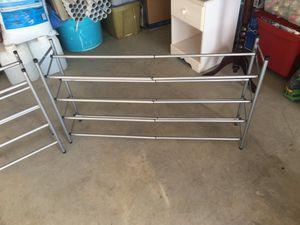 2 Expandable shoe racks for Sale in Visalia, CA