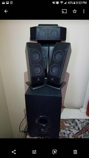 Excellent speaker system, Logitech for Sale in Falls Church, VA