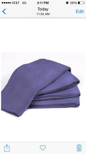 """Towels by Doctor Joe Blue 16"""" x 25"""" New Surgical Huck Towel, Pack of 12 for Sale in Rockville, MD"""