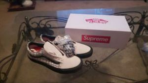 Supreme Vans Old School Pro White Size 12 NEW for Sale in Phoenix, AZ