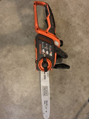 BLACK+DECKER 20V MAX Cordless Chainsaw, 10-Inch, Tool Only for Sale in Seattle, WA