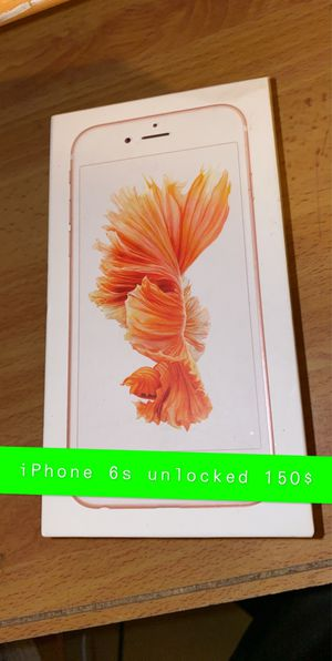 iPhone 6s unlocked for Sale in West Covina, CA