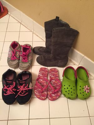 Girl shoes size 13 lot for Sale in Lauderdale Lakes, FL
