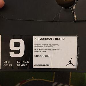 Jordan 7 retro for Sale in Sterling, VA