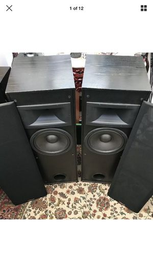 Nice Klipsch KG 4.5 Floor Standing Hi-Fi Tower Home Audiophile Speakers. Condition is Used. These KG 4.5 sound Awesome! Amazing speakers for the pric for Sale in West Dundee, IL