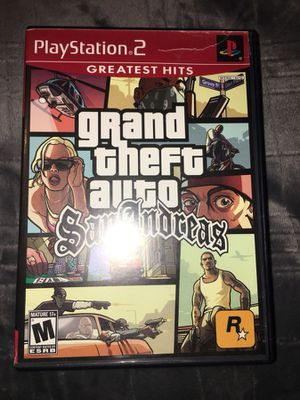 Grand Theft Auto San Andrea (PS2) for Sale in Silver Spring, MD