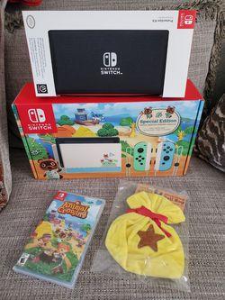 Nintendo Switch Animal Crossing Bundle (New) for Sale in Orlando,  FL
