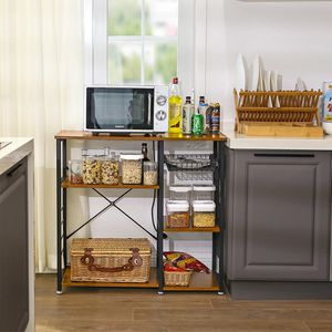 Utility Organizer Kitchen Bakers Rack Microwave Accessories for Sale in Chino Hills, CA