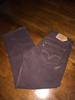 Levi's 501 XX men's jeans size 34X30 straight leg button fly for Sale in Fontana, CA