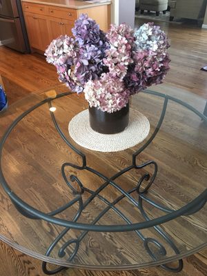 Glass Table for Sale in East Wenatchee, WA