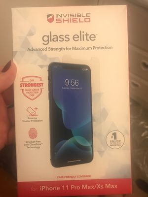 iPhone 11 Pro Max glass shield for Sale in Las Vegas, NV