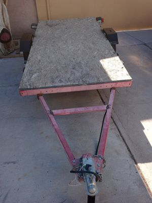 4x8 trailer w title on hand for Sale in Las Vegas, NV