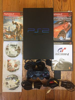 SONY PlayStation 2 2001 series 6 games w/Memory Card PLEASE READ THE DESCRIPTION BELOW BEFORE CONTACTING for Sale in Chicago, IL