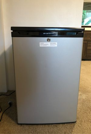 Frigidaire mini fridge with freezer for Sale in Seattle, WA