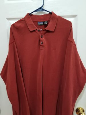 Men's Patagonia LS Polo XL for Sale in Hoschton, GA