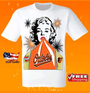Baltimore Orioles White T-Shirt Cool MLB Uniform Jersey Tee Baseball New for Sale in Hollywood, FL