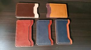 Hand Made Thin Leather Wallets for Sale in Parker, CO