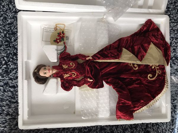 Holiday Ball Porcelain Barbie 1997 Collectable