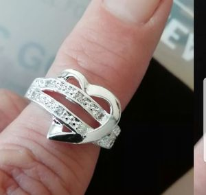 Heart Sterling silver ring sizes 6 7 8 and 9 for Sale in Farmville, VA