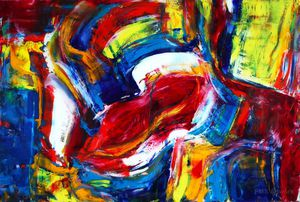 PMS Artwork - One Of A Kind - Original Oil Painting for Sale in Santa Monica, CA
